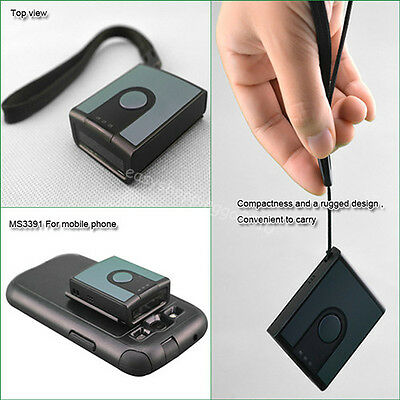 MINI MS3391-H Portable Data Collector 1D Barcode Scanner CCD for Android&IOS Sys