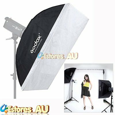 Godox 80x120cm Softbox Umbrella Bowens Mount For Studio Strobe Lighting Flash