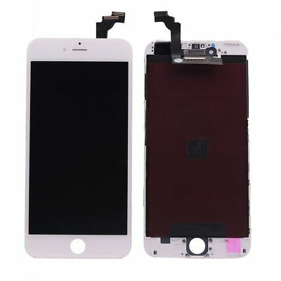 iPhone 6 Plus OEM White Glass Touch Screen Digitizer LCD Assembly Replacement