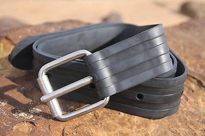Weight Belt adjustable Rubber Dive 1.2m for Scuba and Spearfishing by ruminex