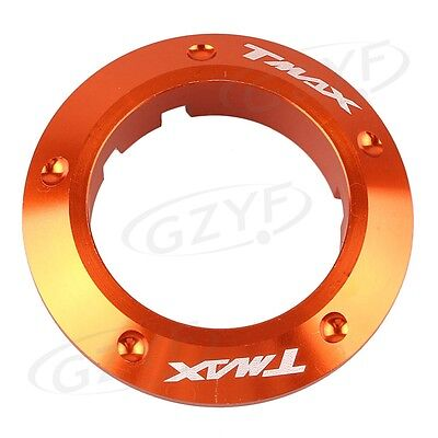 Ignition Switch Cover Key Protector Ring fit Yamaha TMAX 530 2013-2015 Orange