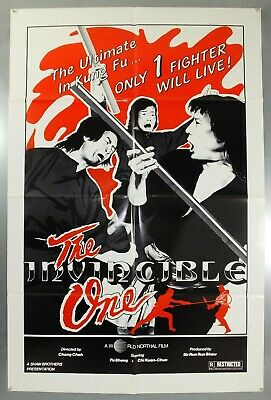 The Invincible One - Shaw Brothers - Original American One Sheet Movie Poster