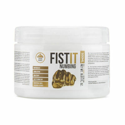 Fist It Numbing Anal Lube 500ml by Shots Toys