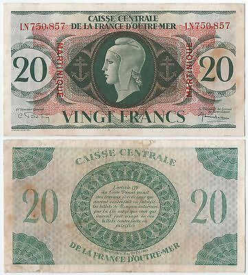 Martinique - 20 Francs