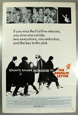The Kremlin Letter - Bibi Andersson - Original American One Sheet Movie Poster