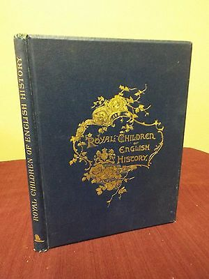 Royal Children of English History by E. Nesbit with Color Illustrations