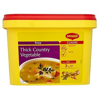 Maggi Thick Country Vegetable Soup 2 Kg Maggi