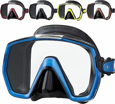 Tusa Freedom HD Dive Mask PREMIUM PROFESSIONAL QUALITY - MORE COLOURS AVAILABLE