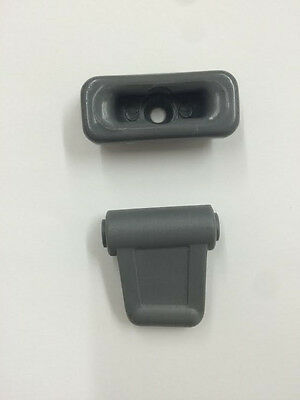 Mercedes Sun Visor Clips 1972-89 Chassis 107 Color Grey