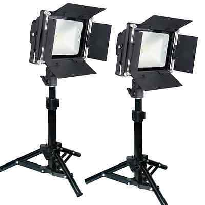 LED Light Table Top Product Photography Photo Studio 200 Watt Dimmable Tent Dome