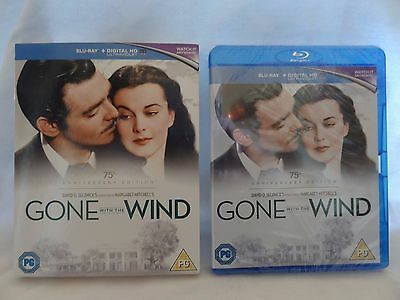 Gone with the Wind [1939](Blu-ray Region-Free 2 Disc)~~~75th Ann~~SLIPCOVER~~NEW