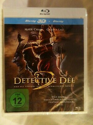 Detective Dee: The Four Heavenly Kings 3D [2018] (Blu-ray 3D + 2D)~~~~NEW SEALED