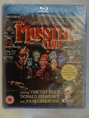 The Monster Club [1981] (Blu-ray)~~~Vincent Price, John Carradine~~~NEW & SEALED