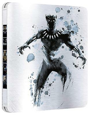 Black Panther 3D (Blu-ray 3D+2D Region-Free)~~~~STEELBOOK~~~~NEW & SEALED