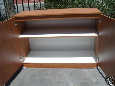 New Office Credenza Filing Storage Buffet Kitchen Pantry Cupboard Cabinet