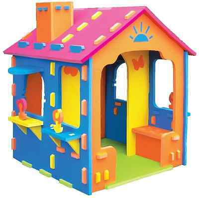 Kids Cubbyhouse - Foam House with Chimney | Childrens EVA Cubby House