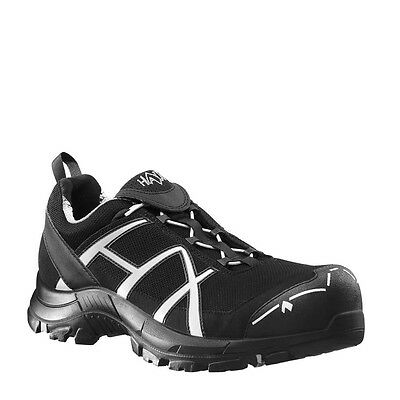 HAIX Black Eagle Safety 41 S1P Low black/silver, Arbeitsschuh, GORE-TEX®,
