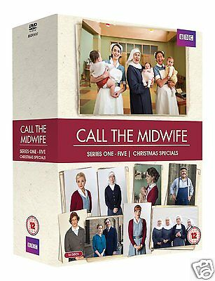 Call the Midwife: Series 1-5 Boxset [BBC] (DVD)~~~~Miranda Hart~~~~NEW & SEALED