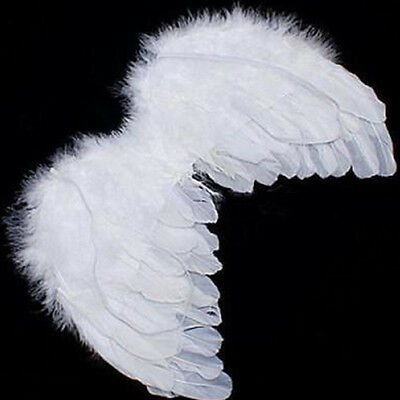 Party Decoration & Photo Prop Baby Kids White Angel Wings Feather