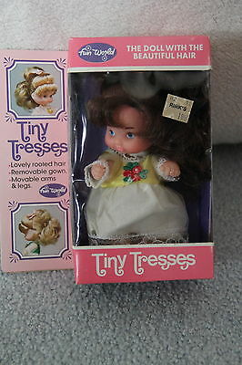 Vintage Fun World Tiny Tresses The Doll With The Beautiful Hair Nrfb Brunette
