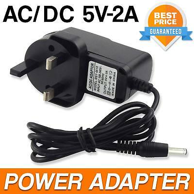 Power Adapter Charger Switching Power Supply AC DC 5V 2A Mains Wall Plug UK