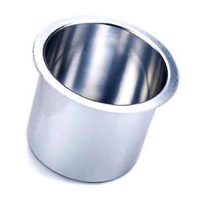 Brybelly Single Vivid Silver Aluminum Drop-In Cup Holder .