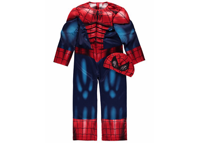 New George Marvel Spiderman boys fancy dress outfit dressing up costume