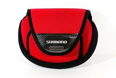 SHIMANO Spinning Reel Shock Guard Cover Pouch Case for #2000-C3000 Reel Red