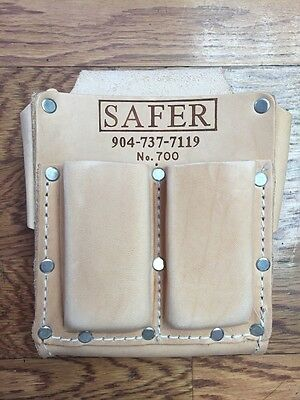 Carpet and Flooring Installer Leather Tool Pouch 700