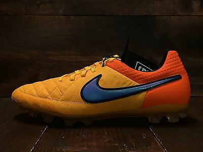 quality design feb4b d39fc NIKE TIEMPO LEGEND V 5 AG Soccer Cleats Laser Total Orange SZ 7.5 (  717143-858 )