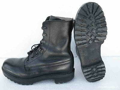British Army Black Assault Combat Boots - Grade 1 - Working - Cadets - Used