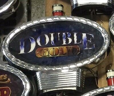"Igt Roundtop Slot Machine Topper ""double Gold"""