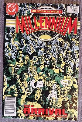 Millennium Week 1,2,3,4,5,6,7, and 8 (COMPLETE SET) DC Comics Lot