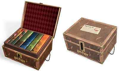 Harry Potter Box Set in Collectible Trunk - Books #1-7 Hardback Limited Edition