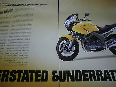 Yamaha Tdm900 Road Test # 3 Page Original Motorcycle Article