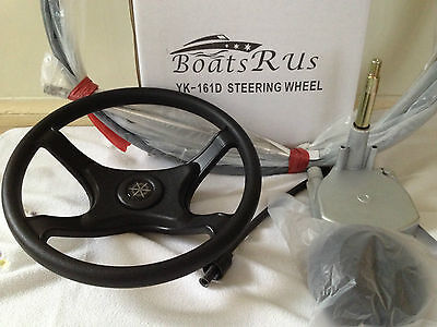 Boat Steering Wheel System Quick Connect Steering Kit , Boat Cable  4.70 M