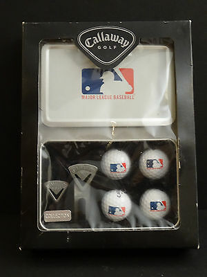 Callaway Golf MLB Collectible Tin Set Major League Baseball New in Box