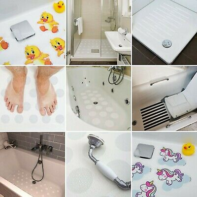 Hygienically Clean And Modern Non Slip Bath Shower Safety Strong Stickers Mat
