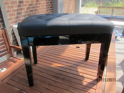 New Luxury Adjustable Piano / Keyboard Bench Stool Pu Leather Seat Ap-5102
