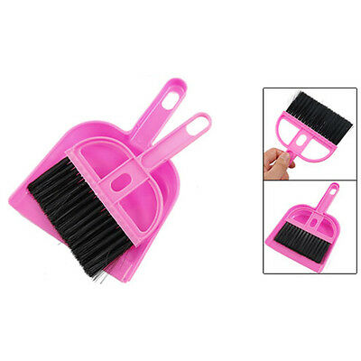 "New 7.5cm/2.95"" Office Home Car Cleaning Mini Whisk Broom Dustpan Set T1"