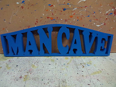 Handmade Wooden Door Topper Mancave Novelty Sign Choice Of Colours