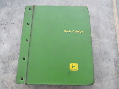 original John Deere 7700 and 3300 Parts Catalog Lot of 2 in Binder