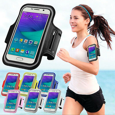 Sport  Gym Running Jogging Armband Case Cover Pouch For  Samsung S7 S6 Edge Plus