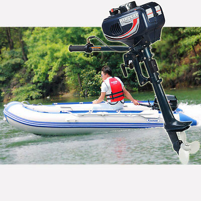 New UPDATED Manual start Outboard Motor Boat Engine 2 Stroke CDI System int