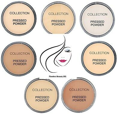 Collection Pressed Powder 17g 5 Shades, Ivory Translucent Candlelight etc