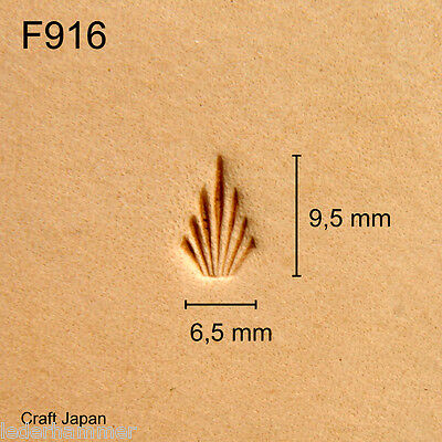Punziereisen, Lederstempel, Punzierstempel, Leather Stamp, F916 - Craft Japan