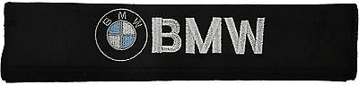 Car Safety Seat Belt Shoulder Pads with BMW Logo - Comfortable & Stylish