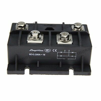 New MDQ 200A-16 Single-Phase Diode Bridge Rectifier 200A Amp Power
