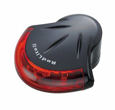 Topeak Redlite II Rear Light Super Bright LED Bike Accessory Tail Safety Cycling