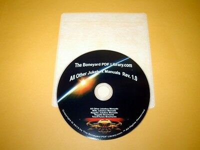 All Other  Jukebox Manuals On DVD (1 Disc)